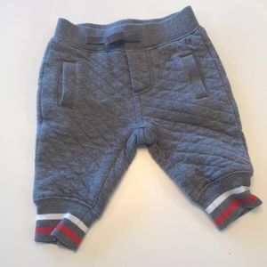 Janie & Jack quilted joggers